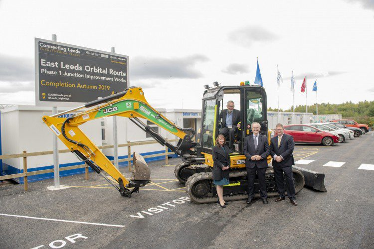 Opening ceremony marks official start of East Leeds Orbital Route work