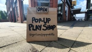 Pop-Up Play Shop in Radcliffe