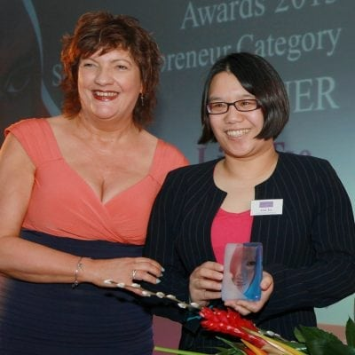 2013 Entrepreneur Winner Award Winner Lisa Tse