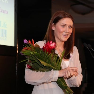 2012 Inspiring Young Woman Winner - Charlotte Carbery-Evans